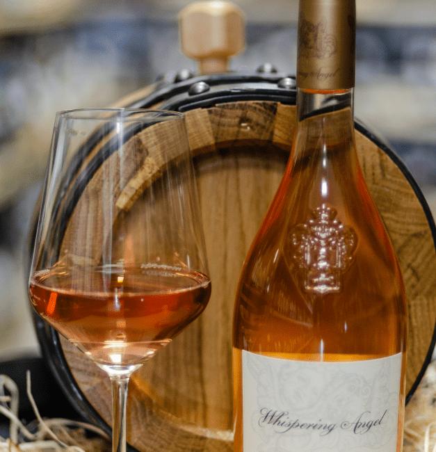 Vino rosato enoteca divino