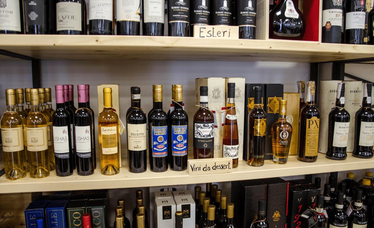 Vini liquorosi enoteca divino