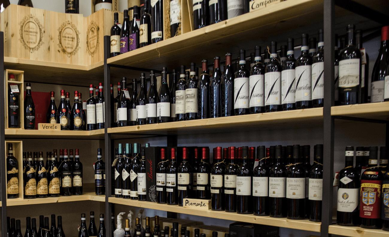 Selezione vini rossi enoteca divino salento
